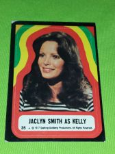 Buy VINTAGE 1977 CHARLIES ANGELS TELEVISION SERIES COLLECTORS STICKER CARD #35GD-VG