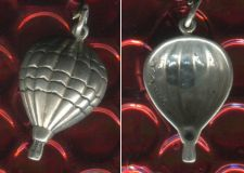 Buy Vintage Sterling Silver Hot Air Balloon Charm signed Shubes