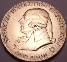 Buy Massive 1974 Gem Unc A-R-B Medallion~John Adams~First Continental Congress~Fr/Sh