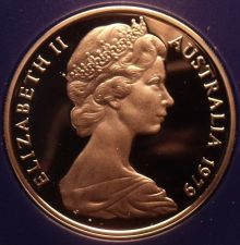 Buy Rare Cameo Proof Australia 1979 Proof 5 Cents~Only 36,000 Minted~Echidna~Free Sh