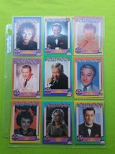 Buy VINTAGE LOT OF 9 1991 STARLINE HOLLYWOOD SUPERSTAR COLLECTORS CARDS LOT #6 GD-VG