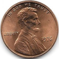 Buy United States Unc 1976-P Lincoln Memorial Cent~Free Shipping