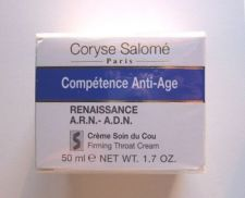 Buy S0082 Coryse Salome COMPETENCE ANTI-AGE A.R.N.-A.D.N. FIRMING THROAT CREAM 50ML