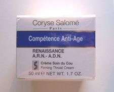 Buy S0082 Coryse Salome COMPETENCE ANTI-AGE A.R.N.-A.D.N. FIRMING THROAT CREAM 50ML