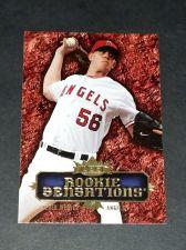 Buy MLB JERED WEAVER ANGELS 2007 FLEER ROOKIE SENSATIONS INSERT #RS-JW GD-VG