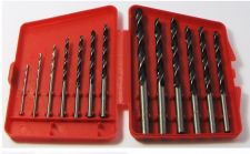 Buy NEW CARBON STEEL electric power hand DRILL BIT SET 13PC from 1/16 to 1/4 w/CASE