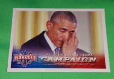 Buy 2016 Presidential Decision Barack Obama Campaign Collectible Trading Card MNT