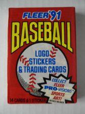 Buy (10) 1991 FLEER MLB BASEBALL CARDS Packs