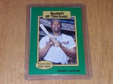 Buy VINTAGE HANK AARON 1980 TOPPS ALL TIME GREATS GD-VG