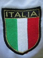Buy ITALIA Soccer Football Team Logo Woven Patch Sew on Jersey,ITALY Country Flag