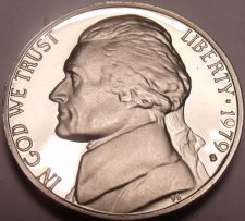 Buy United States Proof 1979-S Type 1 Jefferson Nickel~Excellent~Free Shipping