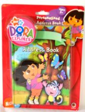 Buy DORA THE EXPLORER PERSONALIZE ADDRESS BOOK