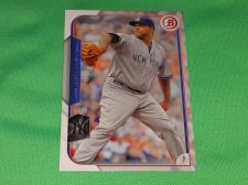 Buy MLB CC Sabathia Yankees SUPERSTAR 2015 BOWMAN BASEBALL MNT