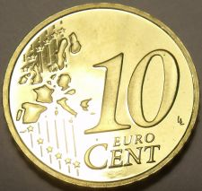 Buy Cameo Proof Germany 2003-A 10 Euro Cents~Berlin Minted~Free Shipping~