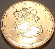Buy Gem Unc Finland 2006 2 Euro Cents~Rampant Lion With Stars~Free Shipping