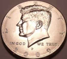 Buy United States Unc 2009-P Kennedy Half Dollar~Free Shipping
