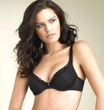 Buy XB12 Natori Underneath Body Doubles Average Figure Lace Trim Demi Bra 133001 New