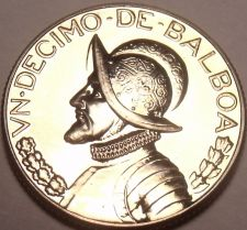 Buy Rare Proof Panama 1970 1/10th Balboa~Only 9,528 Minted~We Have Proof Coins~Fr/Sh