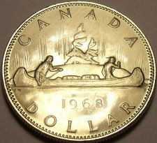 Buy Proof Canada 1968 Dollar~521,641 Minted~Free Shipping