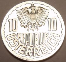 Buy Rare Proof Austria 1986 10 Groschen~Only 42,000 Minted~Free Shipping