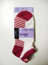 Buy Danskin Now NEW 3 Pairs Girls' Socks Extra Comfortable Fit Incredibly Soft 4-10