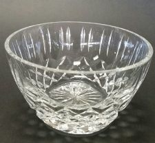 Buy Hand cut and hand polished crystal bowl Triumph pattern
