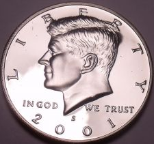Buy United States 2001-S Proof John F. Kennedy Half Dollar~We Have Kennedys~Free Shi
