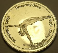 Buy Large Gem Unc Beverley Boys~Gold Medalist Medallion~Excellent~Free Shipping