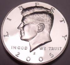 Buy United States 2005-S Proof John F. Kennedy Half Dollar~Free Shipping