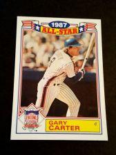 Buy VINTAGE GARY CARTER METS 1987 TOPPS ALL STAR BASEBALL #20/22 GD-VG