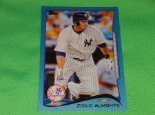 Buy MLB Zoilo Almont Yankees SUPERSTAR 2012 TOPPS BLUE BORDER BASEBALL MNT