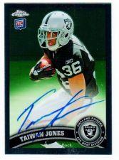 Buy NFL 2011 TOPPS CHROME TAIWAN JONES AUTO RC MNT