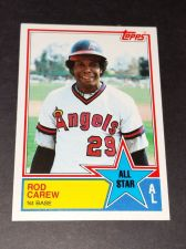 Buy VINTAGE ROD CAREW ANGLES 1983 TOPPS ALL STAR #386 GD-VG