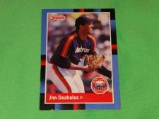 Buy MLB Jim Deshaies Astros 1988 Donruss Baseball GD-VG