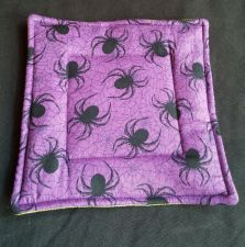 Buy 100% quilted Cotton Pot Holder Spiders design hand made