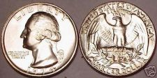 Buy UNCIRCULATED 1974-P WASHINGTON QUARTER~FREE SHIPPING~