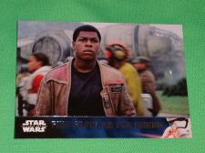 Buy 2016 Topps Star Wars Finn spots an old friend Collectors Card Mnt
