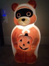 Buy » Adorable Light Up Halloween Bear Statue 2 Foot Tall Beautiful Condition