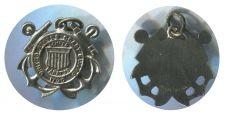 Buy Vintage Sterling Charm : United States Coast Guard / Semper Paratus / 1790 Seal
