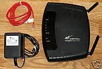 Buy DUAL ANTENNA Westell VersaLink D90 327W DSL WiFi Wireless Modem Router ADSL2