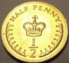 Buy Gem Unc Great Britain 1983 Half Penny~A Royal Crown~Semi-Key Date~Free Shipping