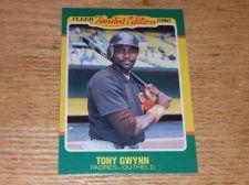 Buy VINTAGE Tony Gwynn San Diego Padres 1986 FLLER LIMITED EDITION GLOSSY