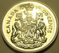 Buy PROOF CANADA 1976 50 CENTS~WE HAVE PROOFS~FREE SHIPPING~