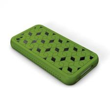 Buy XtremeMac iPhone 4 Green Hybrid Silicone Case