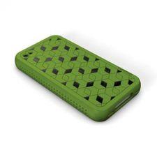 Buy XtremeMac iPhone 4 Green Hybrid Silicone Case