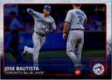 Buy 2015 Topps Series 1 Baseball #25 Jose Bautista Toronto Blue Jays