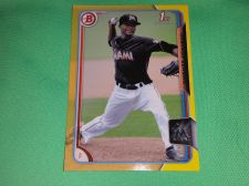 Buy MLB Domingo German Marlins 2015 TOPPS YELLOW 1st Rookie BASEBALL MNT
