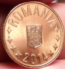 Buy Gem Unc Romania 2014 Ban~See All Our Unc Coins~Free Shipping