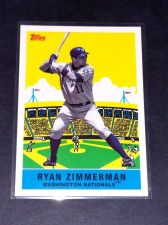 Buy MLB RYAN ZIMMERMAN NATIONALS 2007 TOPPS GD-VG