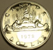 Buy PROOF CANADA 1972 CANOE DOLLAR~FANTASTIC COIN~FREE SHIPPING INCLUDED~